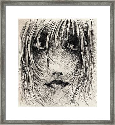 The Smirk Framed Print