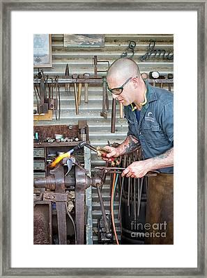 The Smithy Framed Print