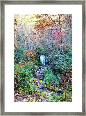 The Smokies Framed Print by Brittany H