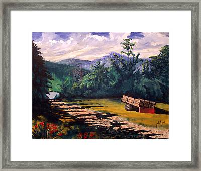 The Smokies Framed Print by Jim Phillips