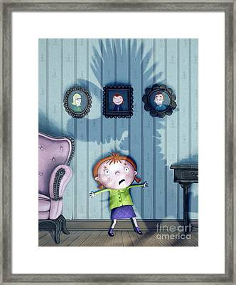 The Snarkle Beast Framed Print