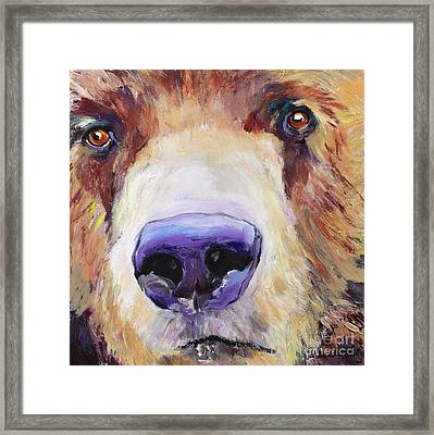 The Sniffer Framed Print