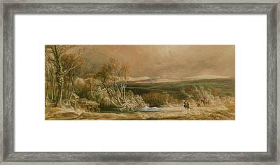 The Snow Drift  Framed Print