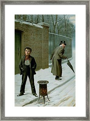 The Snowball Framed Print by H Pittard