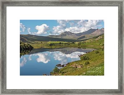 The Snowdon Horseshoe Framed Print