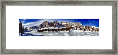 The Snowies Framed Print