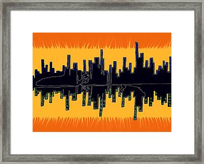 The Snowman Framed Print by Christopher Rowlands