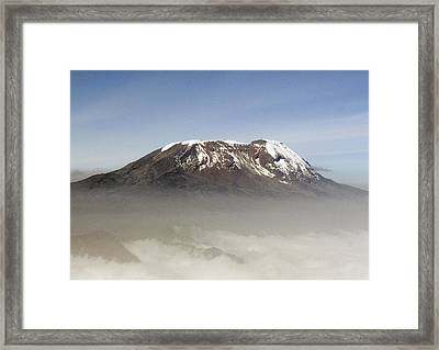 The Snows Of Kilimanjaro Framed Print