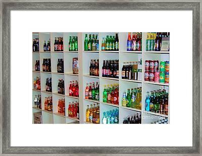 The Soda Gallery Framed Print