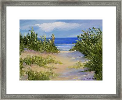The Soft Winds Of Summer Framed Print