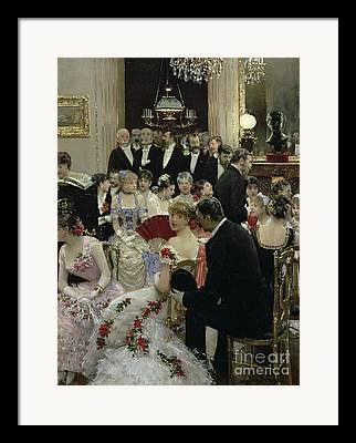 Soiree Gown Framed Prints