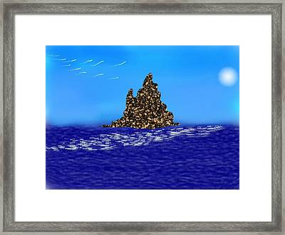 The Solitude Framed Print by Dr Loifer Vladimir