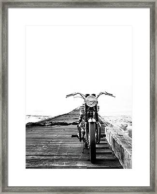 The Solo Mount Framed Print by Mark Rogan