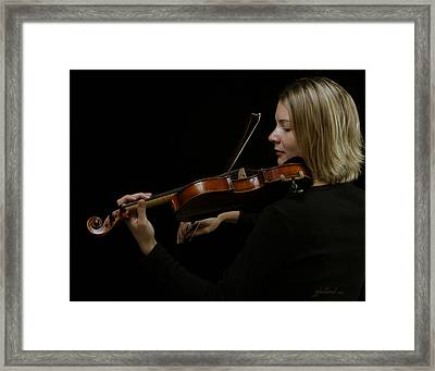 The Soloist  Framed Print