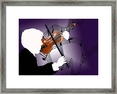 Framed Print featuring the sculpture The Soloist by Steve Karol