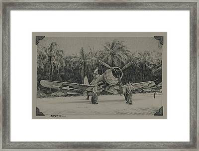 The Solomons 1943 Framed Print by Wade Meyers