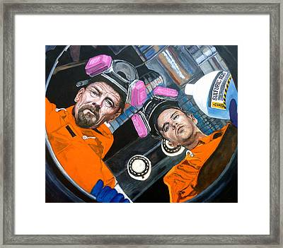 The Solution Framed Print by Tom Roderick