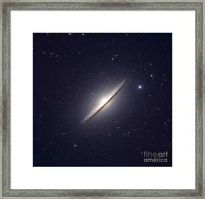 The Sombrero Galaxy Framed Print by Robert Gendler