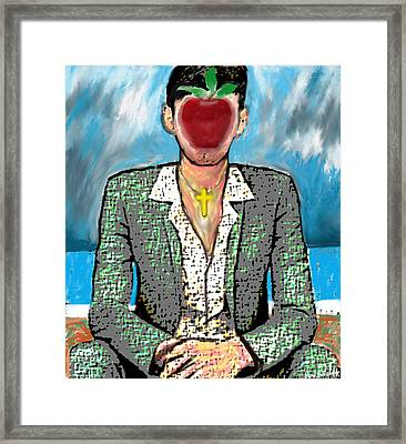 The Son Of Man Framed Print by Paul Sutcliffe