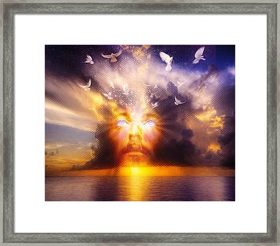 The Son Framed Print by Robby Donaghey