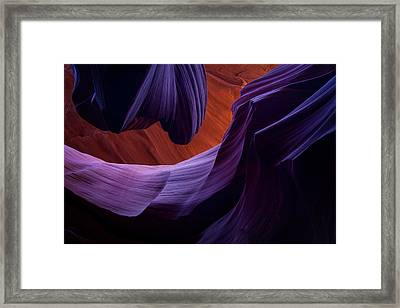 The Song Of Sandstone Framed Print
