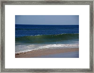 The Song Of The Ocean Framed Print by Susanne Van Hulst