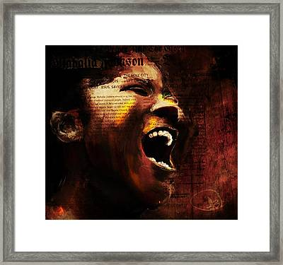 The Songbird Framed Print