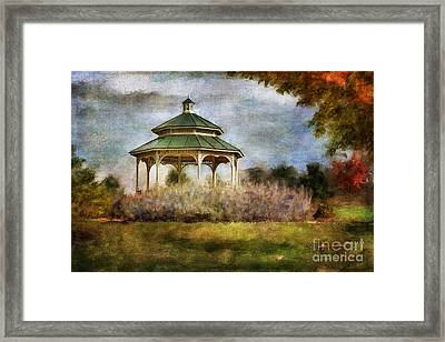 The Soothing Scent Of Lavender Framed Print by Lois Bryan