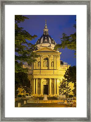 The Sorbonne - Paris Framed Print