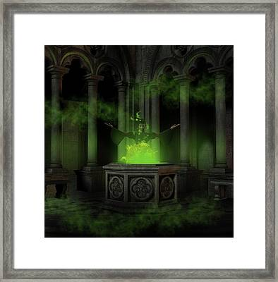 The Sorceress Framed Print