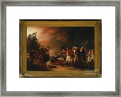 The Sortie Made By The Garrison Of Gibraltar Framed Print