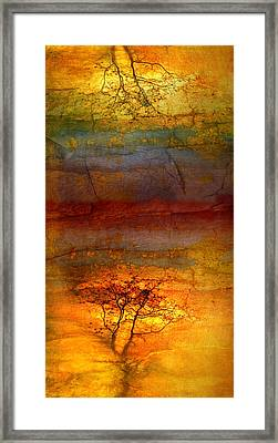 The Soul Dances Like A Tree In The Wind Framed Print by Tara Turner