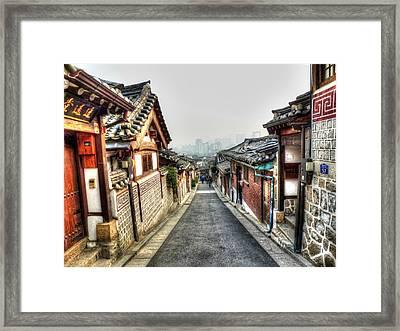 The Soul Of Seoul Framed Print by Michael Garyet