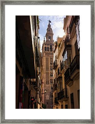 The Soul Of Seville Framed Print by Andrea Mazzocchetti