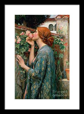 St. Valentine's Day Paintings Framed Prints