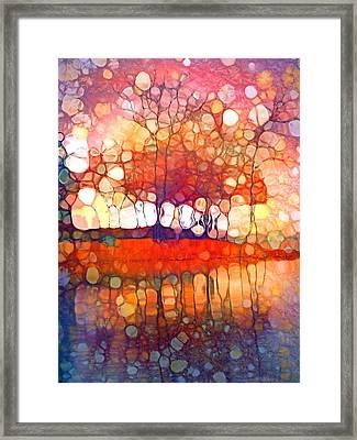 The Souls Of Trees Framed Print by Tara Turner