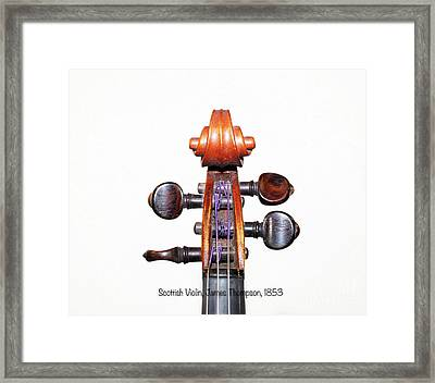 The Sound Of 1853 Framed Print by Steven Digman