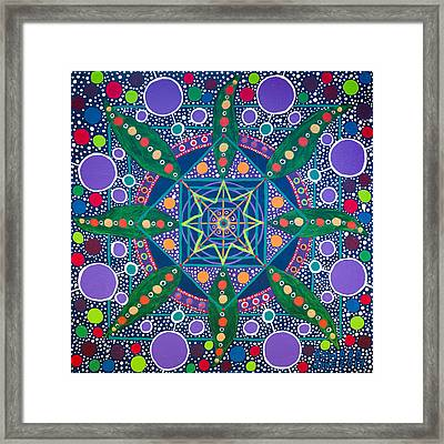 The Sound Of A Germinating Seed Framed Print