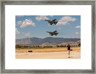 The Sound Of Freedom Framed Print by Jon Burch Photography