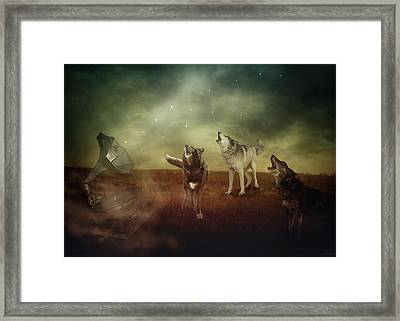 Framed Print featuring the digital art The Sound Of Magic by Nicole Wilde