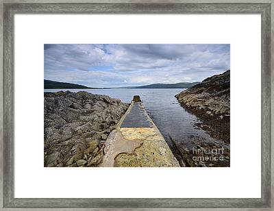 The Sound Of Mull Framed Print by Nichola Denny