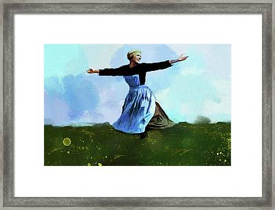The Sound Of Music Framed Print by Dan Sproul