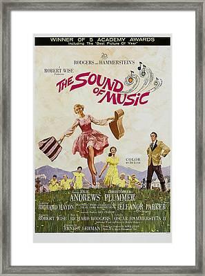 The Sound Of Music, Poster Art, Julie Framed Print