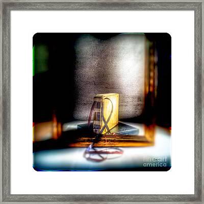 Lost Tracks Framed Print