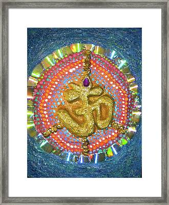 The Sound Of Peace Framed Print