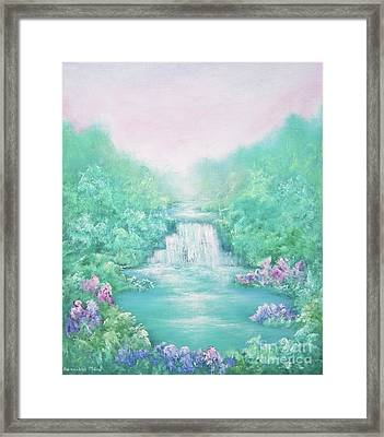 The Sound Of Water Framed Print
