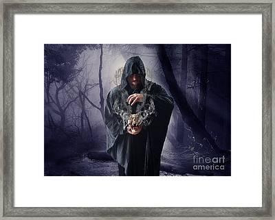 The Sounds Of Silence Framed Print by Nichola Denny