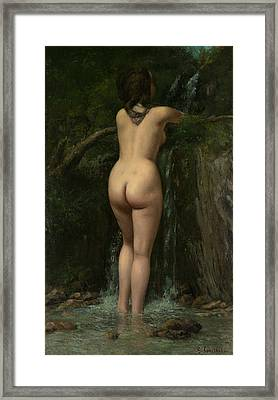The Source, 1862 Framed Print