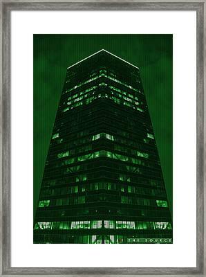 The Source Framed Print by Jonathan Ellis Keys