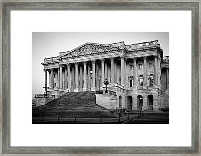 Framed Print featuring the photograph The South End In Black And White by Greg Mimbs